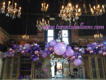 Balloon Decorations, Toronto Balloon Decorations, Balloon Bouquets, Balloon Arches