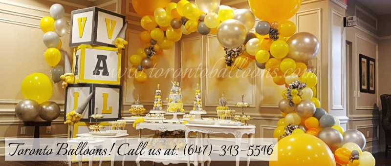 Toronto Balloon Decorations, Balloon Bouquets, Balloon Arches